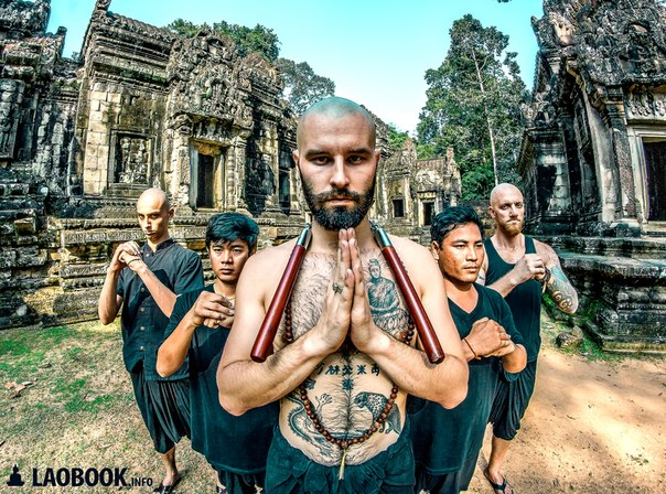 Лао-тур в Таиланде, Буддийский Храм, Буддийский Храм в Черкассах